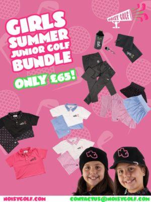 Girls Junior Golf Clothing Bundle